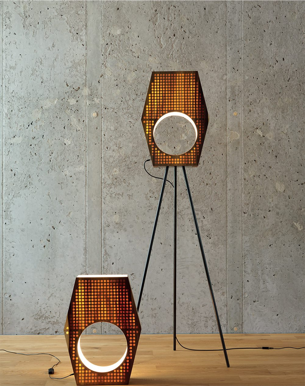 13&9 design - Wood Light (foto Paul Ott)