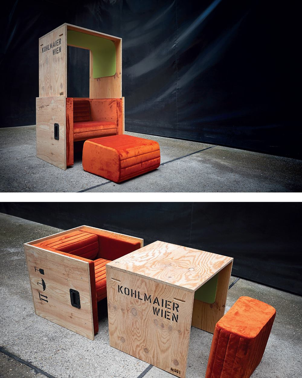Airture - Journey Chair (foto Atelier Olschinsky)